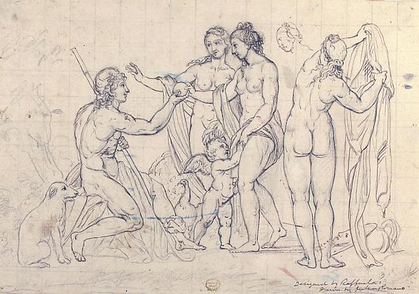 Judgment of Paris, after Raphael
