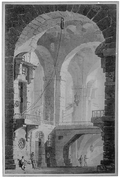 """Dark Prison (Carcere Oscura)"", after Piranesi"
