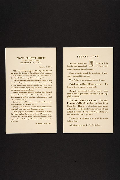 Set of Advertising Cards