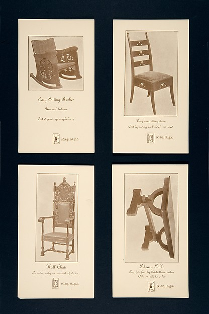 Advertising Card for a Very Easy Sitting Chair