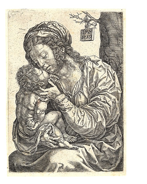 The Virgin and Child Seated at the Foot of a Tree