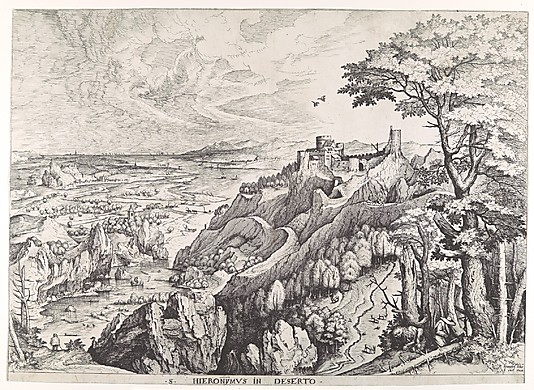St. Jerome in the Wilderness (S. Hieronymus in Deserto) from The Large Landscapes