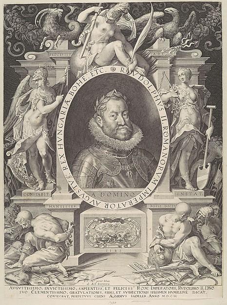 Portrait of Rudolph II
