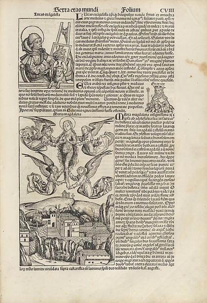 (Liber chronicarum) Registrum huius operis libri cronicarum cum figuris et ymagibus ab inicio mundi
