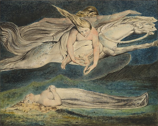 This is What William Blake and Pity Looked Like  in 1795