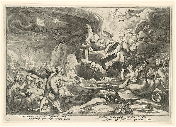 The Fall of Phaeton, from the series Ovid's Metamorphoses