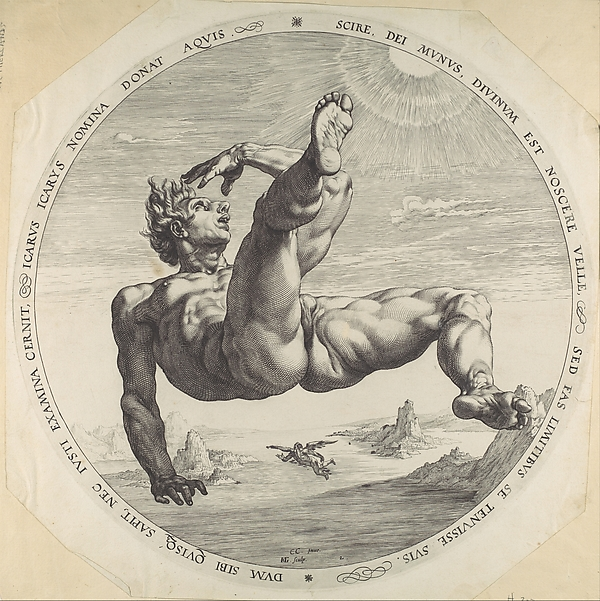 Icarus, from the series The Four Disgracers