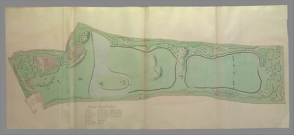 Plans, Elevations, Sections, and Perspective Views of the Gardens and Buildings of Kew