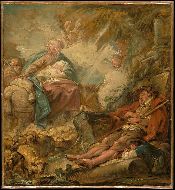 Shepherds Dreaming of the Flight into Egypt