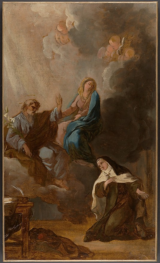 The Virgin Placing St. Teresa of Avila Under the Protection of St. Joseph