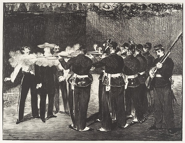 The Execution of the Emperor Maximilian [L'exécution de Maximilien]