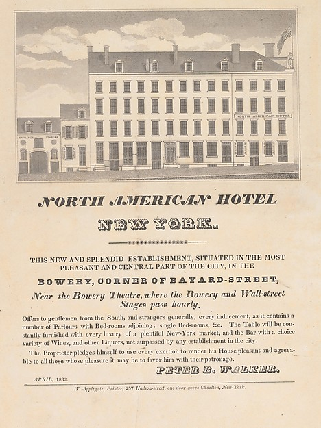 North American Hotel, New York