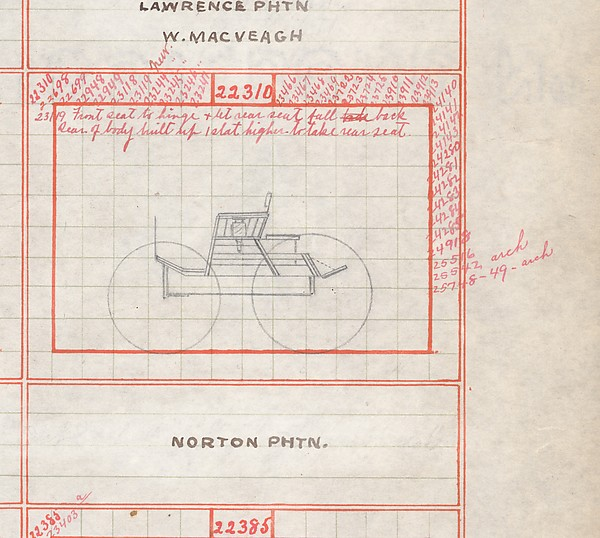 Carriage Draft Book 1893–1905