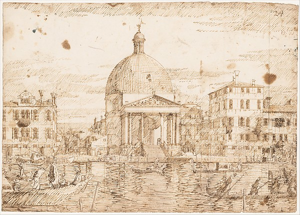 San Simeone Piccolo, Venice, Seen from the Grand Canal