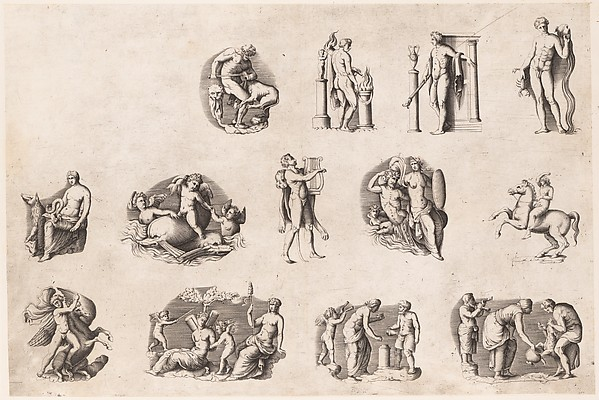 Speculum Romanae Magnificentiae: Subjects after Antique Cameos and Gems