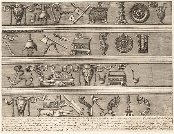 Speculum Romanae Magnificentiae: Sacrificial Instruments Based on Ancient Relief Sculpture