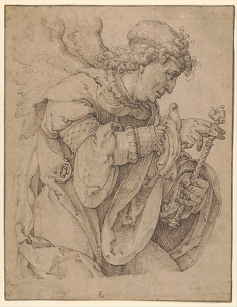 The Archangel Gabriel announcing the birth of Christ