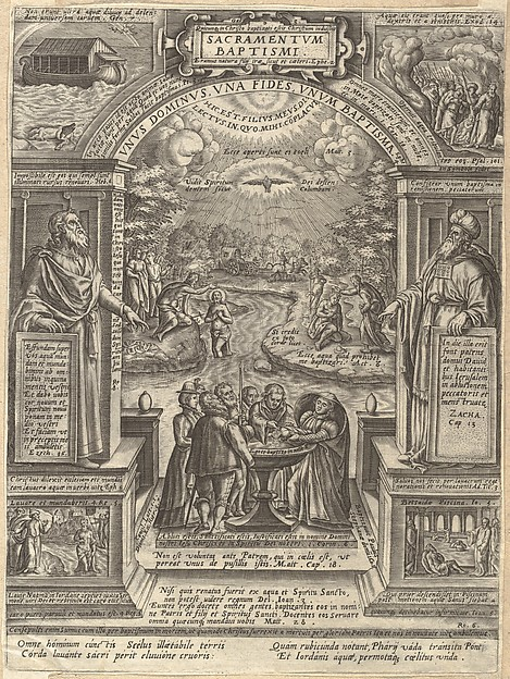 Baptism, from the series The Seven Sacraments
