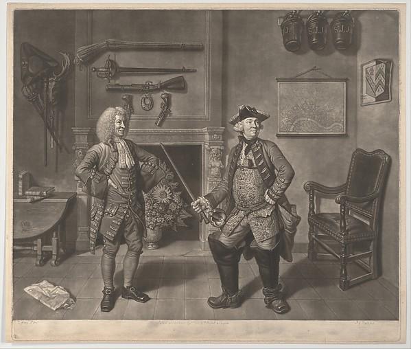 Mr. Foote in the Character of Major Sturgeon, in the Mayor of Garratt