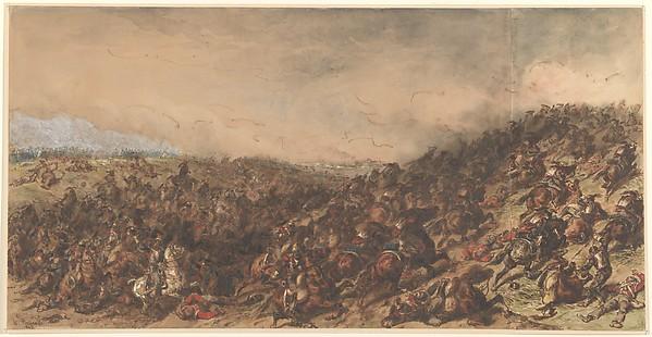 Battle Scene (Waterloo)