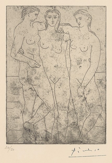 The Three Bathers II