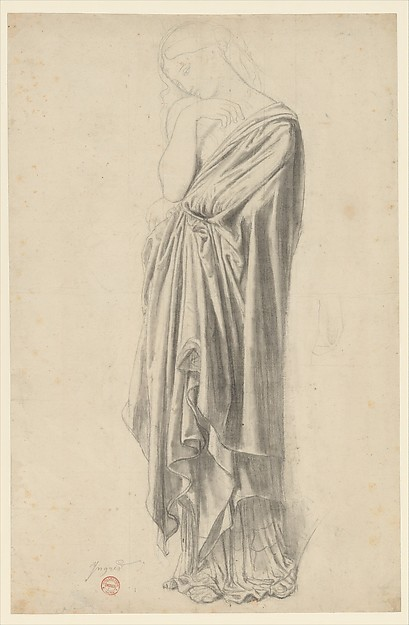 Study for the Figure of Stratonice