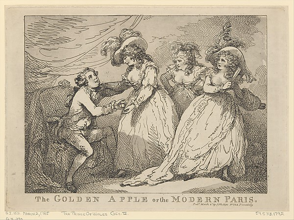 The Golden Apple or the Modern Paris
