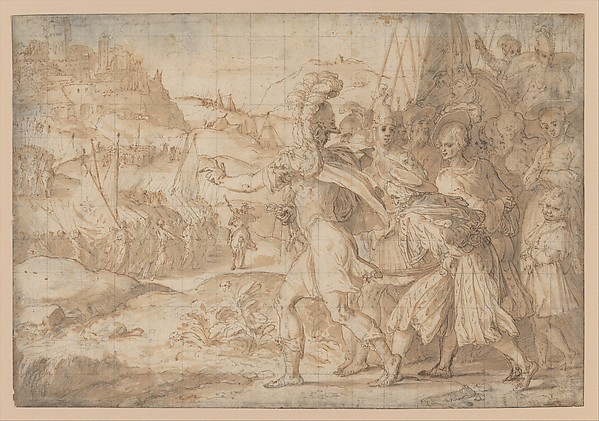 The Siege of Fiesole by the Goths