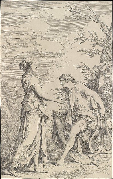 Apollo and the Cumaean Sibyl