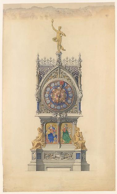 Design for Enameled Clock