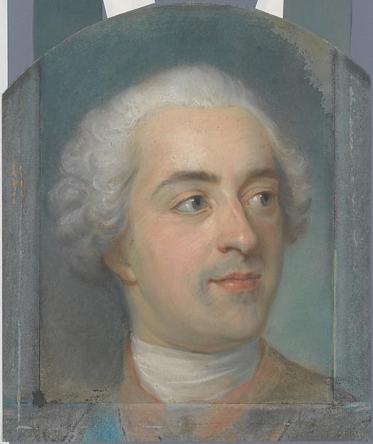 Préparation for a Portrait of Louis XV (1710-1774)