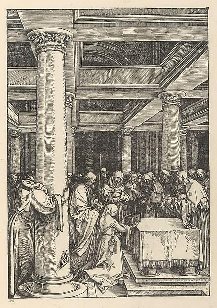 Epitome in Divae Parthenices Mariae Historiam ab Alberto Durero [Life of the Virgin]