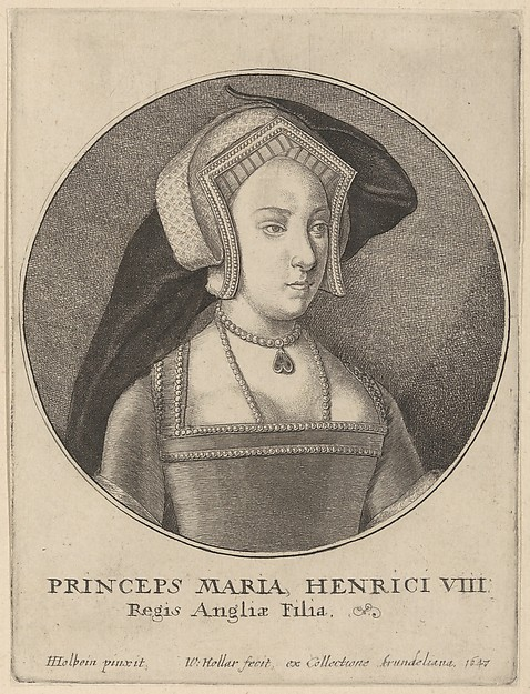 Princess Mary Tudor (later Mary I, Queen of England)