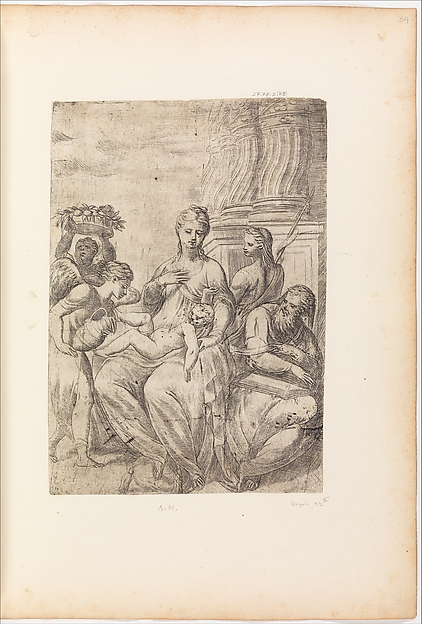Holy Family with St. John the Baptist and Angels