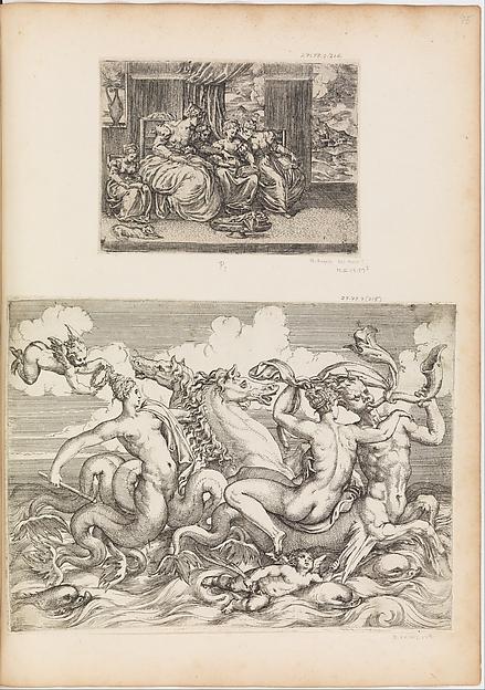 Sirens, Naiads and Tritons