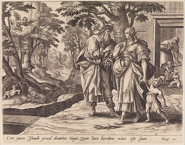 The Banishment of Hagar and Ishmael, from The Story of Abraham