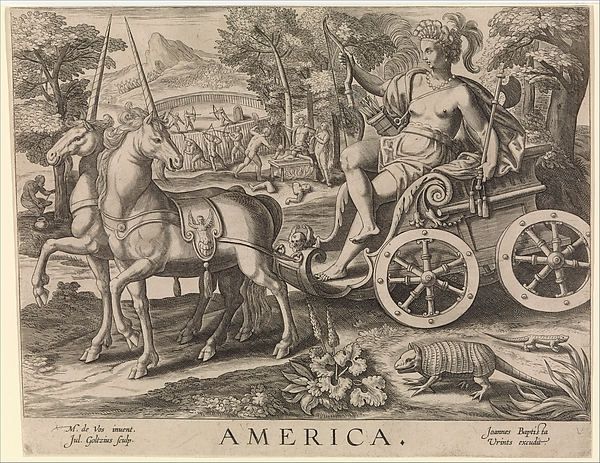 America from The Four Continents