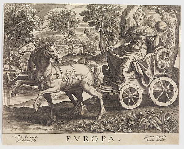 Europa from The Four Continents