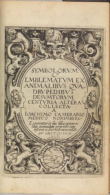 I) Symbolarum et Emblematum ex Aquatilibus et Reptilibus Desumptorum. Centuria Quarta. (1604)