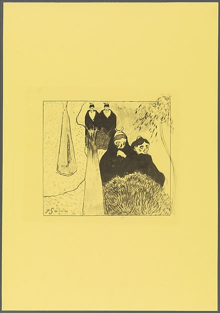 Old Women of Arles, from the Volpini Suite: Dessins lithographiques