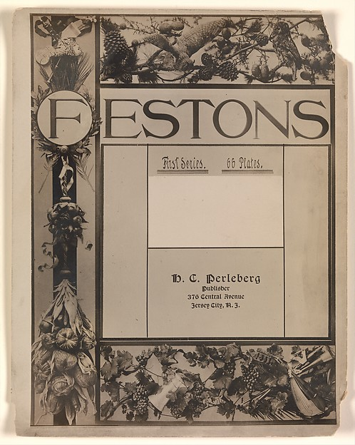 Title Page from Festons, First Edition
