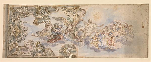 Allegorical Design for a Ceiling Fresco.