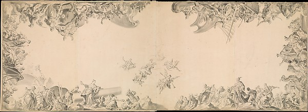 Design for a Ceiling:  The Four Parts of the World