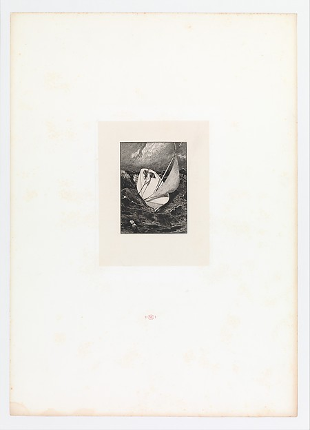 Rescue (plate four from Paraphrase on the Finding of a Glove)