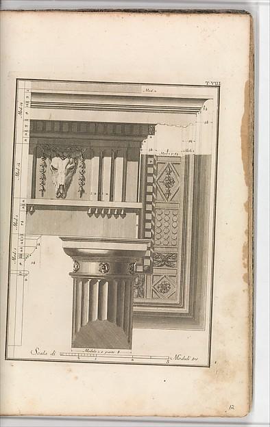 Il Vignola Illustrato Proposto da Giambattista Spampani, e Carlo Antonini