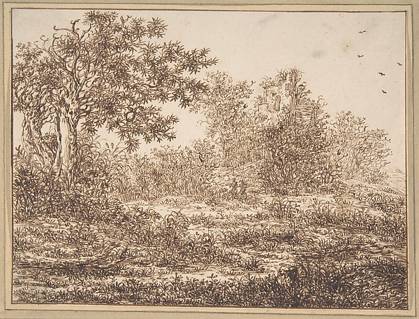 Dune Landscape with Trees