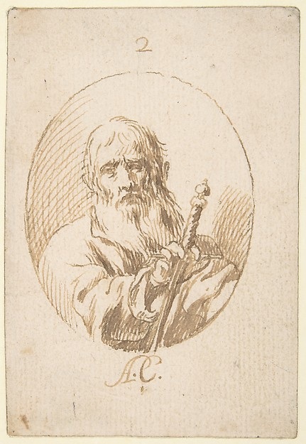 This is What Antonio del Castillo y Saavedra and Half-length Figure of St Paul in an Oval. Looked Like  in 1616