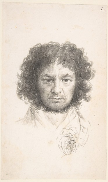 This is What  and Self-Portrait Looked Like  in 1795