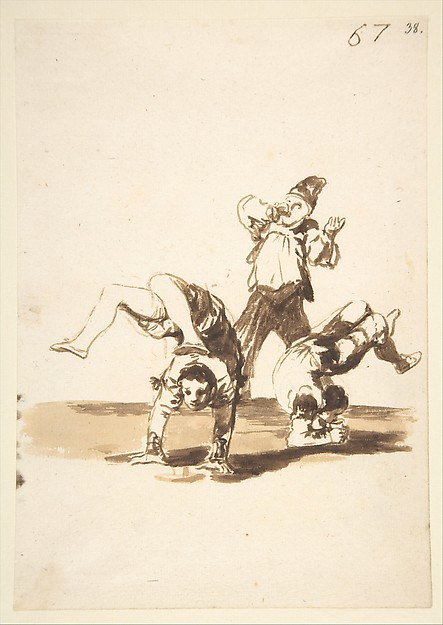 Acrobats; Images of Spain Album, 67