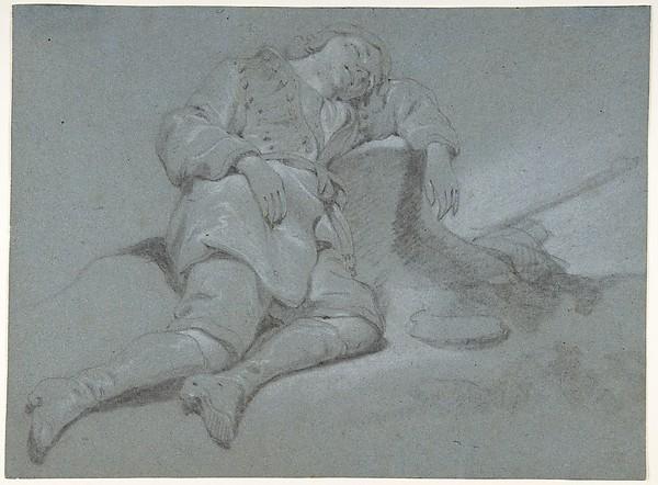 A Sleeping Shepherd Boy
